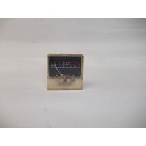 Decibilímetro Antigo Analógico 4 X 4 X 1 Cm