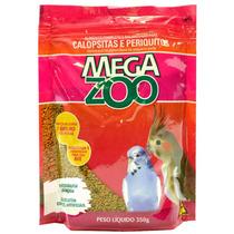 Ração Pm13 Calopsitas E Periquitos 350g _ Megazoo