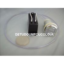 Botão Pneumático Cromado - Para Banheiras/spas/furos