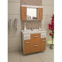 Gabinete / Armário Banheiro Mônaco