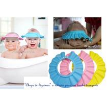 Chapéu Protetor Lavar Cabeça Bebês Importado -pronta Entrega