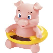 Termômetro Digital Para Banho Bebê Porquinho Flutua Na Água