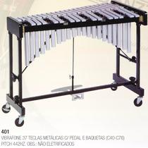 Metalofone 37 Teclas C/armação,pedal,baquetas(c40-c76) 442hz
