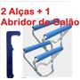 1 Abridor De Galão + 2 Pegador De Galão De Agua Mineral