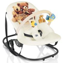 Cadeira Descanso Balanço Bebe Barra Brinquedo Giocam Ursinho