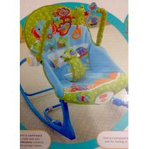 Cadeira De Balanço Minha Infância. Semi-nova - Fisher Price