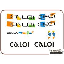Adesivo Para Bicicleta Caloi Ceci Bella - Frete Grátis