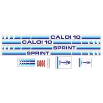 Adesivo Para Bicicleta Caloi 10 1985 Sprint - Frete Grátis