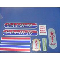 Adesivo P/ Bicicleta Caloi 10 1976 Metalizado - Frete Grátis