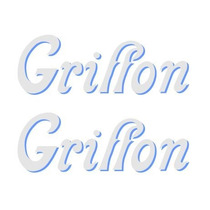Adesivos Bicicleta Antiga Griffon - Junior_sbs