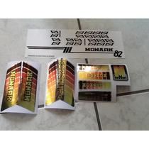 Adesivos Monareta 1982 Metalizado Completo - Junior_sbs