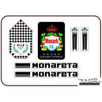 Adesivo Para Monark Monareta 1976 - Frete Grátis