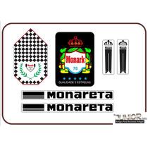 Adesivo Para Monark Monareta 1978 - Frete Grátis
