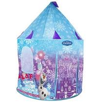 Toca Barraca Infantil Portatil Castelo Frozen Olaf