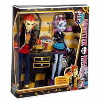 Boneca Mattel Monster High Heath Burns & Abbey Bominable