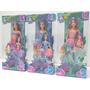Barbie 4 Bonecas Fairytopia Mermaidia Nori Merissa Elina