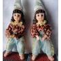 Bonecas Tailandesas, Com Trajes Típicos - Em Resina - A6