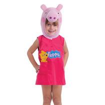 Fantasia Peppa Pig Tamanho P 3 A 4 Anos Infantil Multibrink