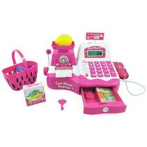 Caixa Registradora Infantil Grande C/ Acessórios 34438 Fênix