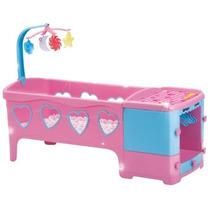 Berço De Bebê P/ Boneca Doce Sonho Rosa Magic Toys