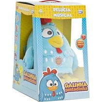 Galinha Pintadinha De Pelúcia Musical Original Multibrink