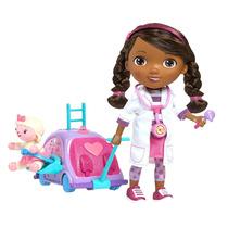 Boneca Doutora Brinquedo Com Kit De Checkup