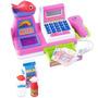 Caixa Registradora Infantil Rosa