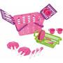 Jogo De Talheres + Pratos E Copos Infantil 18 Pcs Magic Toys