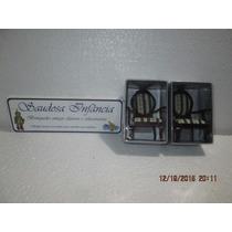 Par Cadeiras Miniatura Escala 1/12 Madeira Casinha Boneca