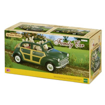2001g Sylvanian Families Carro De Família (verde)