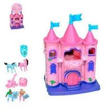 Castelo Castelinho Infantil De Princesas Com Acessórios
