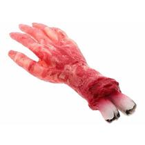 Artigo Festa Fantasia Halloween Mão Sangue Pronta Entrega