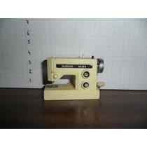 Miniatura Máquina De Costura Glasslite Funcionando - Corda