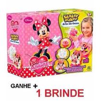 Minnie - Shaker Maker Arte Em Gesso - Dtc