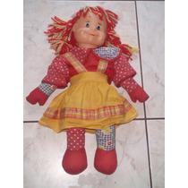Boneca Emília - Sítio Do Pica Pau Amarelo - Estrela