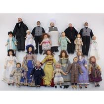 Miniatura De Bonecos - Esc.1/12 - Casa De Boneca - Porcelana