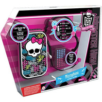 Microfone Viva Voz Horripilante Monster High Intek Promoção