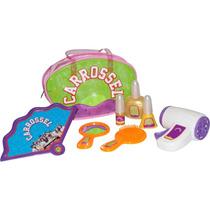Promoção Brinquedo Kit Beleza Com 8 Peças Novela Carrossel