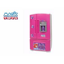 Geladeira Inverse Infantil Com Água Original Magic Toys
