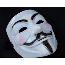 Máscara V Vingança Anonymous Vendetta Envio 24 Horas