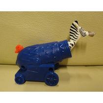 Brinquedo Colecao Madagascar 3 Marty Zebra Canhao Mc Donalds