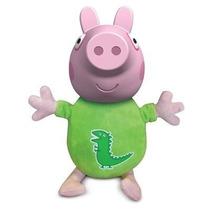 George Pig 40 Cm Estrela - Personagem Desenho Peppa Pig