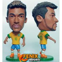 Mini Craque Neymar #10 Brasil Seleção 13/14 Novo Kodoto