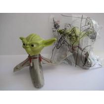 Brinquedo Mc Donalds Guerra Clone Star Wars Yoda - Lacrado