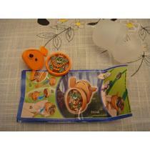 Brinquedo Miniatura Kinder Ovo Estilo Bakugan