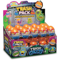 Trash Pack Série Ghosts Display C/ 60 Trashies Mega Oferta