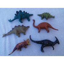 Lote 6 Dinossauros 16 Cms