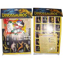Kit 20 Miniaturas Dinossauros Dino Magic