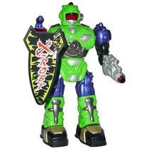 Brinquedo Robô By Bots Asteróide Anda Se Mexe E Acende Luzes