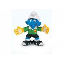 Goalkeeper Smurf - Miniatura Imp. Schleich - Smurfs - Nova!